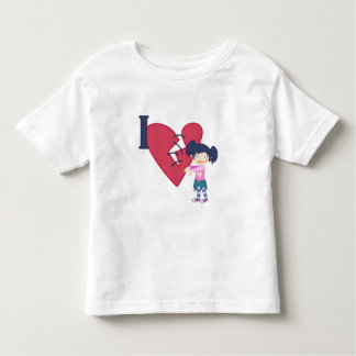 I Love Zombies Toddler T-shirt