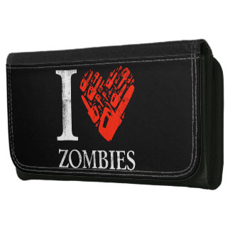 I Love Zombies Wallet