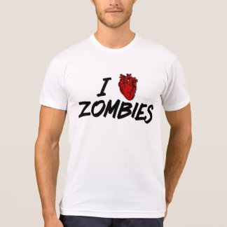 I love zombies - zombie lovers unite! T-Shirt