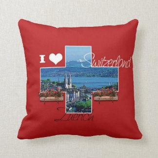 I love Zuerich, Switzerland - Pillow
