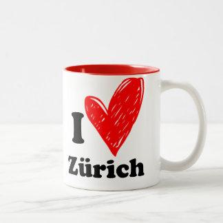 I love Zürich Two-Tone Coffee Mug