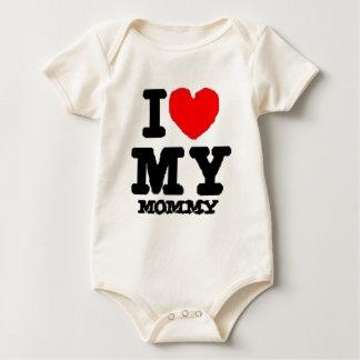 i lovee my mommy baby bodysuit