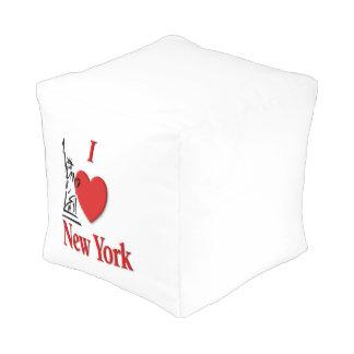 I Lover NY Pouf