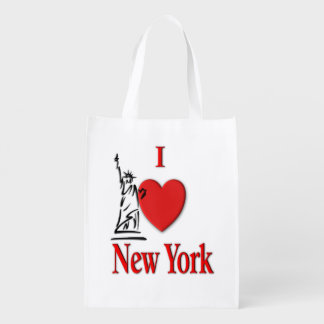 I Lover NY Reusable Grocery Bag