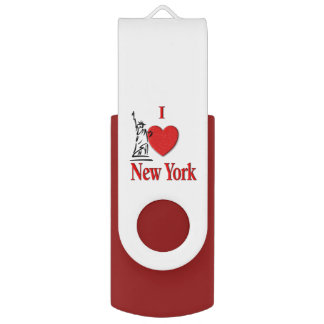 I Lover NY USB Flash Drive