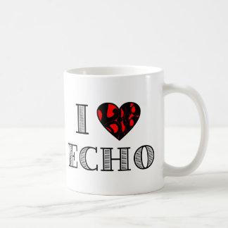 I LubDub Echo Red Coffee Mug