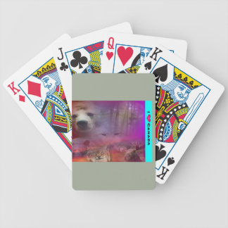 I Luv Canada Bicycle Playing Cards