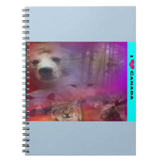 I Luv Canada Notebook
