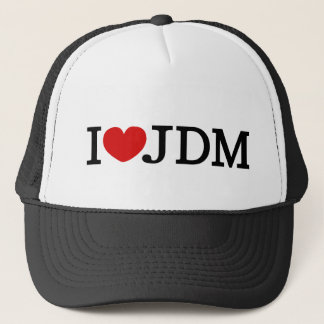I LUV JDM 12V TRUCKER HAT