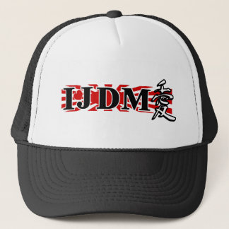 I LUV JDM FLAG TRUCKER HAT