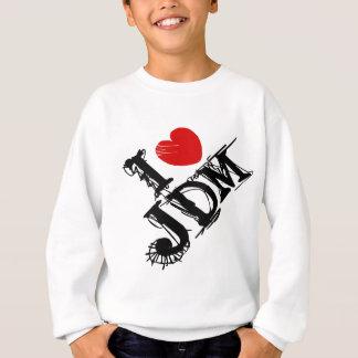 I LUV JDM GRUNGE SWEATSHIRT