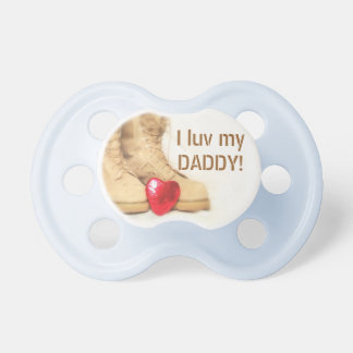 """I luv my ""ARMY"" DADDY"" Pacifier"