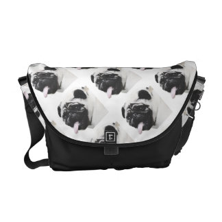 I Luv My Pug Courier Bag