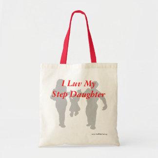 I Luv My Step Daughter! Tote Bag
