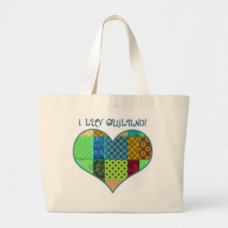 I LUV QUILTING TOTE - QUILTER MELODY'S COLLECTION