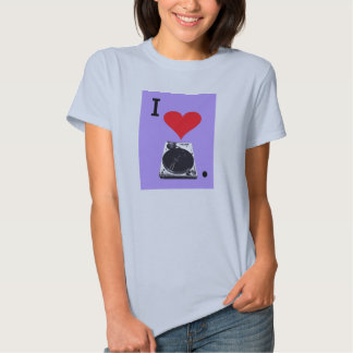 I Luv Turntables T-shirt