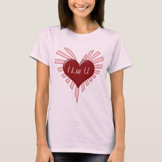 I Luv You Valentine T-Shirt