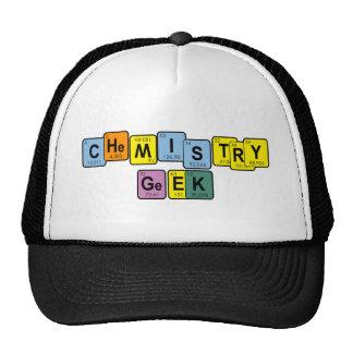 I M A CHEMISTRY GEEK1 TRUCKER HAT