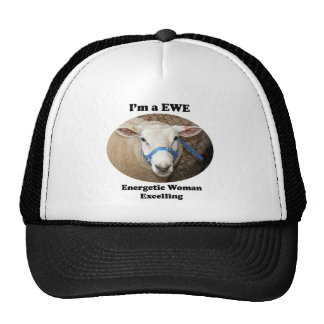I m a EWE Energetic Woman Excelling Hat