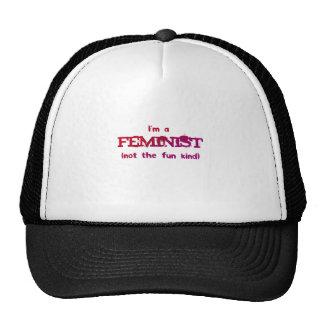 I m a Feminist not the fun kind Trucker Hats