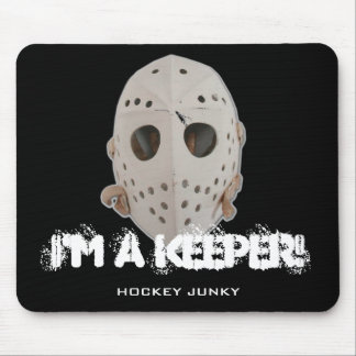 I M A KEEPER MOUSE PADS