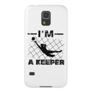 I'm a Keeper – Soccer Goalkeeper designs Galaxy S5 Case
