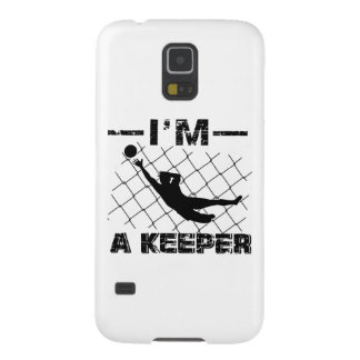 I'm a Keeper – Soccer Goalkeeper designs Galaxy S5 Cover