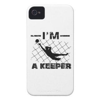 I'm a Keeper – Soccer Goalkeeper designs iPhone 4 Case-Mate Case