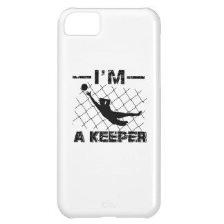 I'm a Keeper – Soccer Goalkeeper designs iPhone 5C Covers