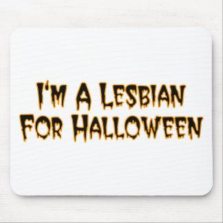 I m A Lesbian For Halloween Mousepads