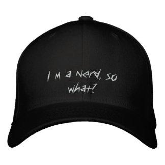 I´m a nerd, so what? baseball cap