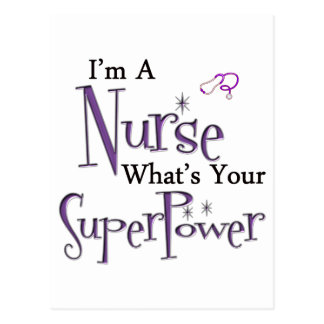 I m A Nurse Postcards