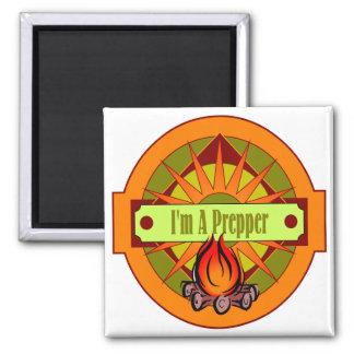 I`m A Prepper Square Magnet