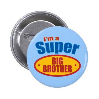 I m a Super Big Brother Pins
