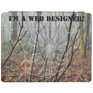 I'm a WEB designer! iPad Cover