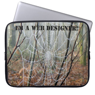 I'm a WEB designer! Laptop Sleeve