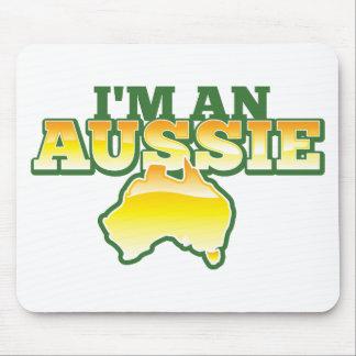 I m an Aussie Mousepads
