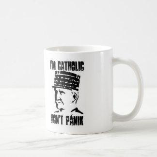 i' m catholic coffee mug