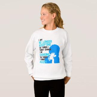 I'm Changing Things Girl's Sweatshirt