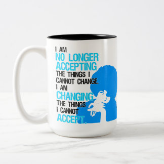 I'm Changing Things Large Mug