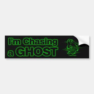 I m Chasing a GHOST Bumper Stickers