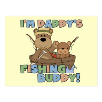 I m Daddy s Fishing Buddy T-shirts and Gifts Postcards
