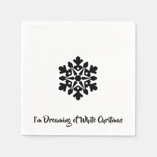 I'm Dreaming of a White Chritmas Disposable Napkin