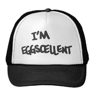 I m Eggscellent Hats