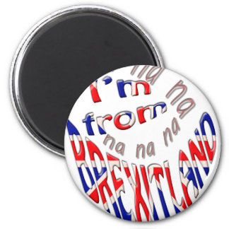 I,m from brexitland 2 inch round magnet