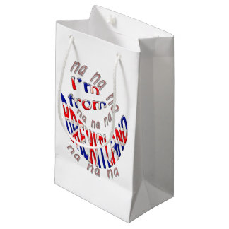 I,m from brexitland small gift bag