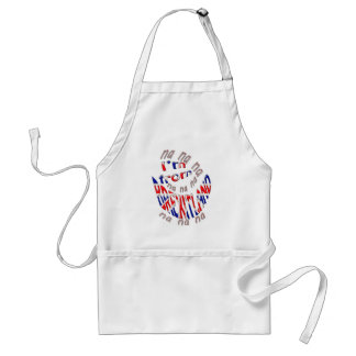 I,m from brexitland standard apron