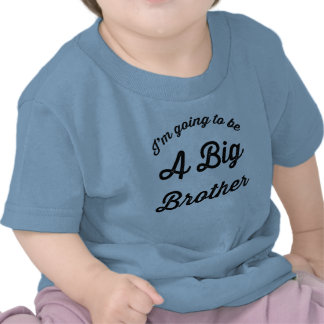 I m going to be a Big Brother T Shirt Blue