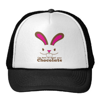 I m here to steal your CHOCOLATE Trucker Hats