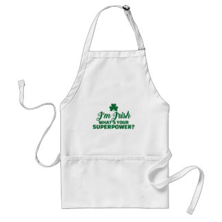 I'm Irish what's your superpower Standard Apron